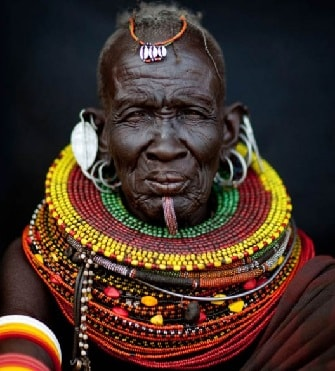 African tribal elder
