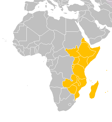 East Coast Of Africa Map | Map Of Africa