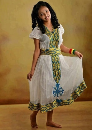 Traditional Ethiopian Dress