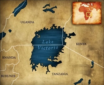 Map Of Africa Lake Victoria.Lake Victoria Over 15 Interesting Key Facts